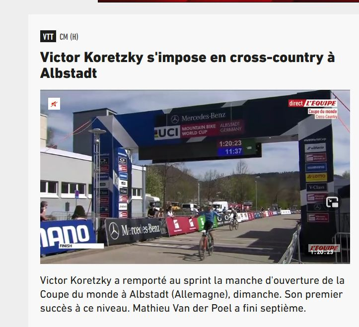 Victor Koretzky vainqueur en coupe du Monde